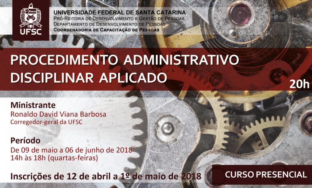 Capacitação Procedimento Administrativo Disciplinar Aplicado